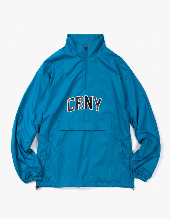 CORNY / BOOTLEG Half zip Jacket - Cyan | HEIGHTS. | 하이츠 온라인 스토어