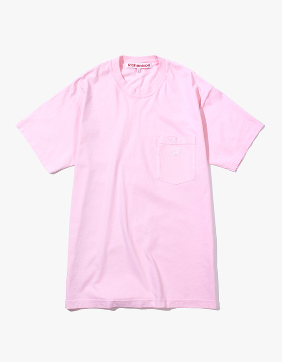 Richardson Pocket Glyph T-Shirt - Pink | HEIGHTS. | 하이츠 온라인 스토어