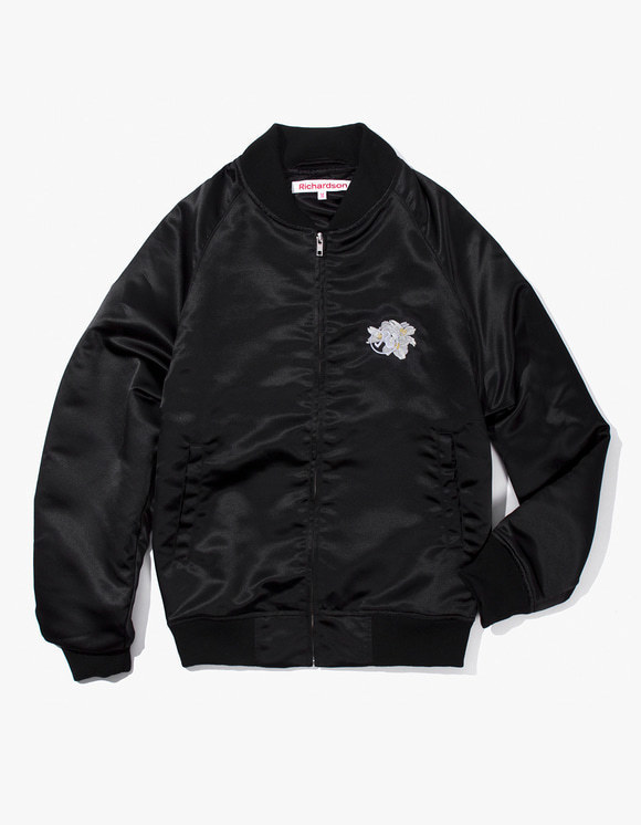 Richardson Souvenir Bomber Jacket - Black | HEIGHTS. | 하이츠 온라인 스토어