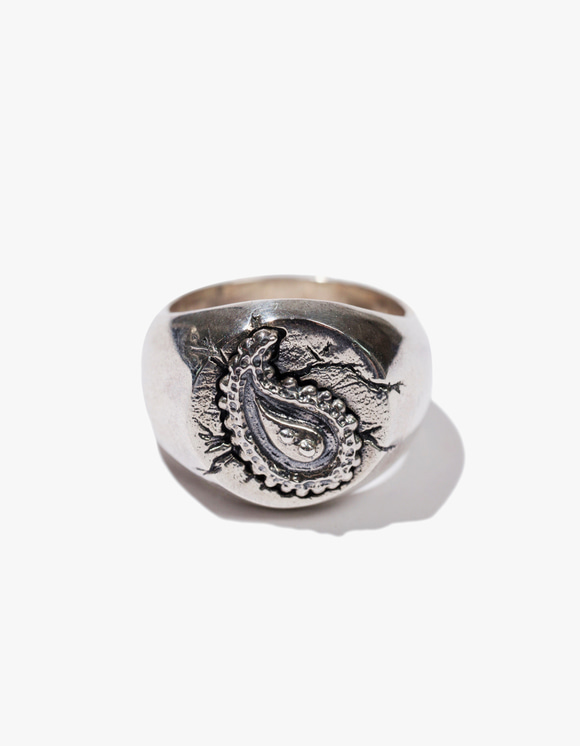 Kruchi lab Paisley Ring - Silver | HEIGHTS. | 하이츠 온라인 스토어