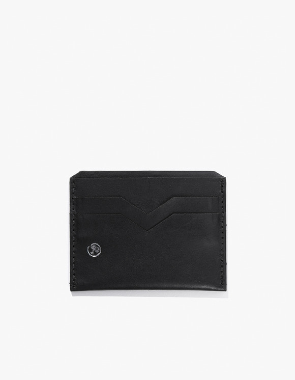 Richardson Silver Embossed Card Holder - Black | HEIGHTS. | 하이츠 온라인 스토어