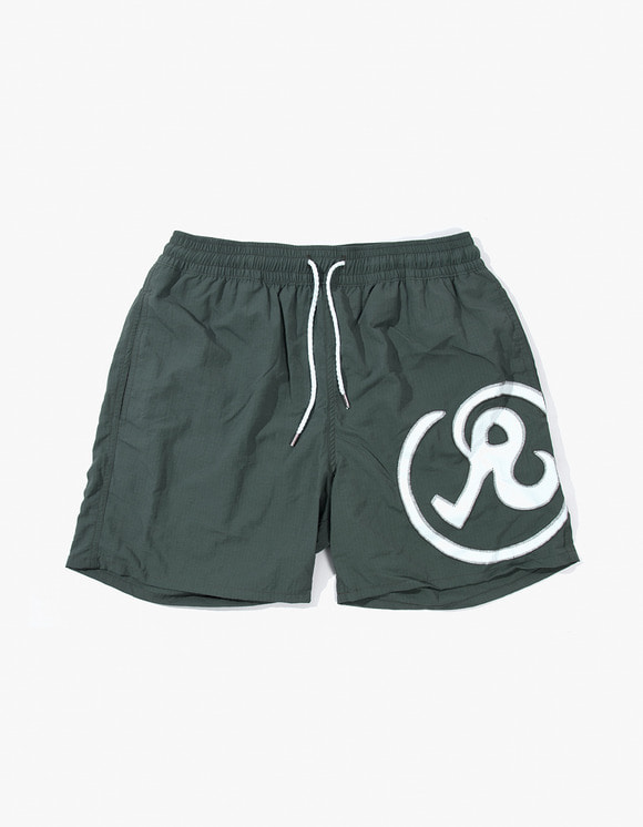 Richardson Glyph Swim Shorts - Army Green | HEIGHTS. | 하이츠 온라인 스토어