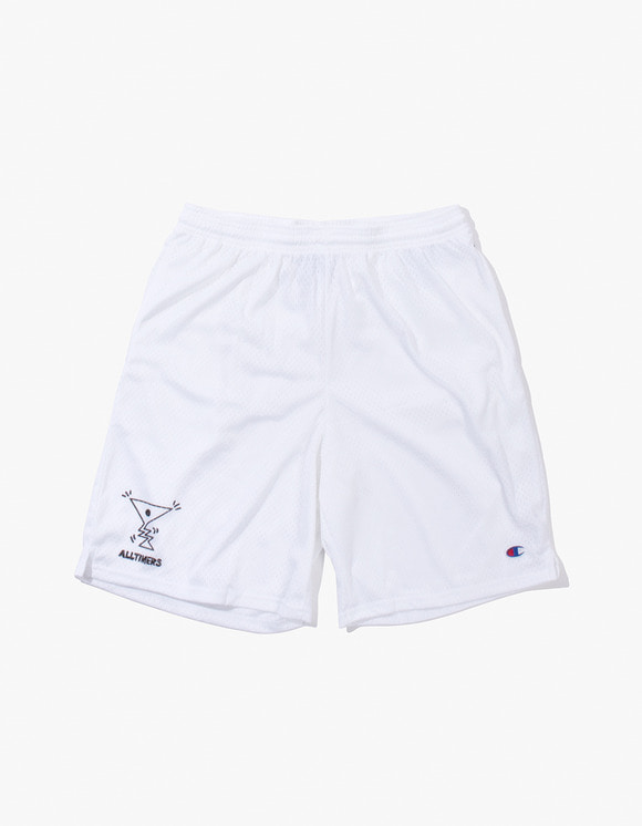 Alltimers Action Logo Shorts - White | HEIGHTS. | 하이츠 온라인 스토어