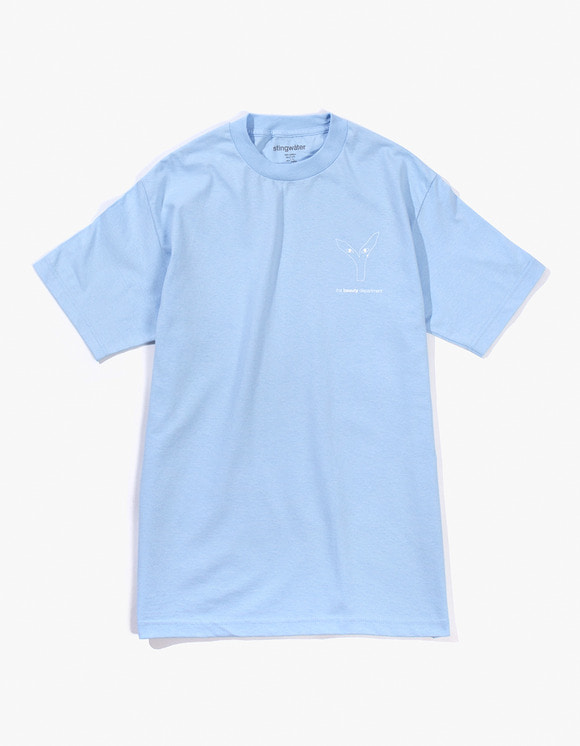 Stingwater The Beauty Department Tee - Blue | HEIGHTS. | 하이츠 온라인 스토어