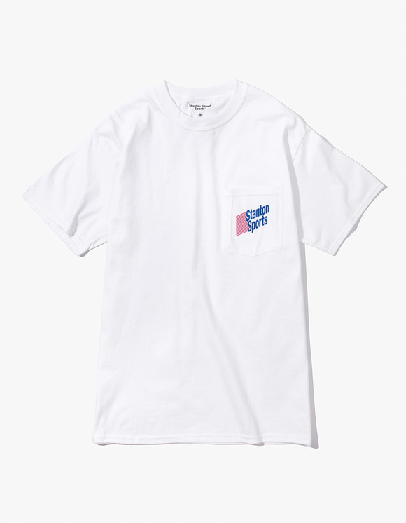 Stanton Street Sports Stanton Lotto Pocket T-Shirt - White | HEIGHTS. | 하이츠 온라인 스토어