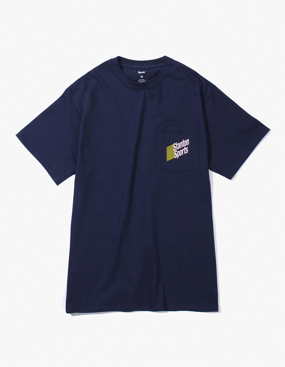 Stanton Street Sports Stanton Lotto Pocket T-Shirt - Navy | HEIGHTS. | 하이츠 온라인 스토어
