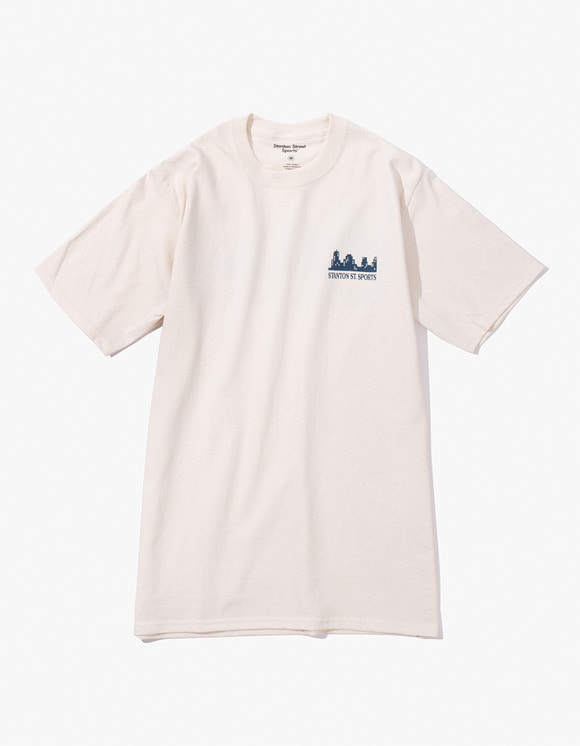 Stanton Street Sports Stanton Neighbourhood T-Shirt - Natural | HEIGHTS. | 하이츠 온라인 스토어