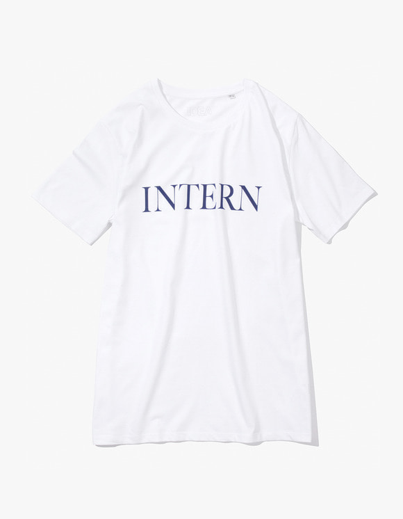 IDEA Intern T-Shirt - White | HEIGHTS. | 하이츠 온라인 스토어
