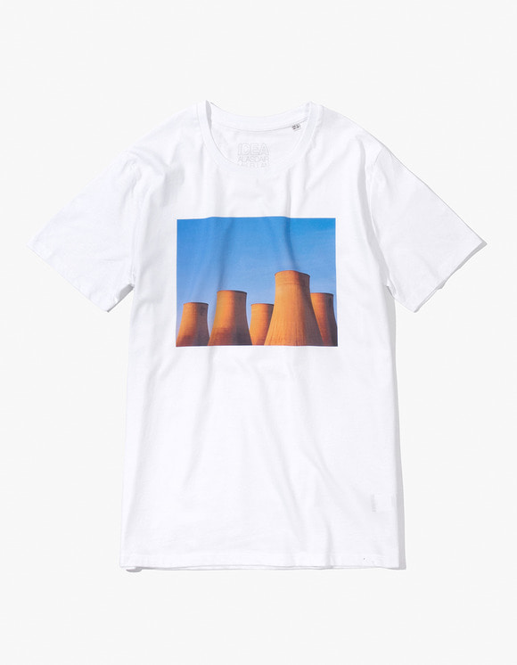 IDEA Alasdair McLellan British Summer TOWERS T-Shirt - White | HEIGHTS. | 하이츠 온라인 스토어