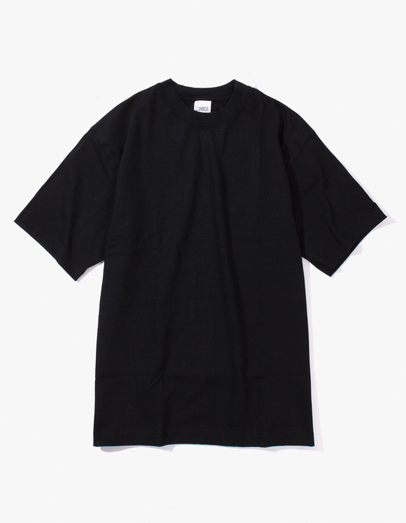 Camber Sportswear Heavy Weight 8oz S/S T-Shirt - Black | HEIGHTS. | 하이츠 온라인 스토어