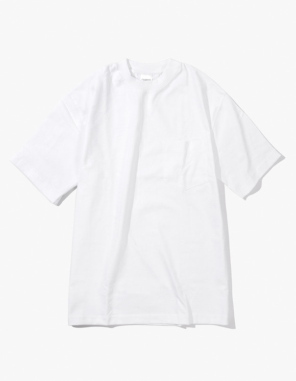 Camber Sportswear Heavy Weight 8oz Pocket S/S T-Shirt - White | HEIGHTS. | 하이츠 온라인 스토어