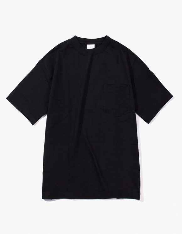 Camber Sportswear Heavy Weight 8oz Pocket S/S T-Shirt - Black | HEIGHTS. | 하이츠 온라인 스토어