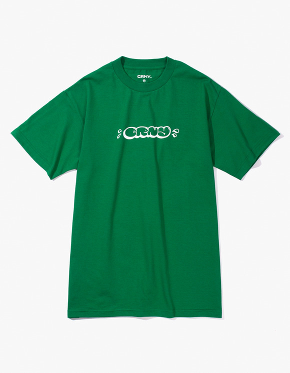 CORNY / BOOTLEG CRNY Bubble Logo T-Shirts - Green | HEIGHTS. | 하이츠 온라인 스토어