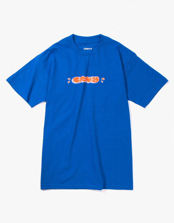CORNY / BOOTLEG CRNY Bubble Logo T-Shirts - Royal Blue | HEIGHTS. | 하이츠 온라인 스토어