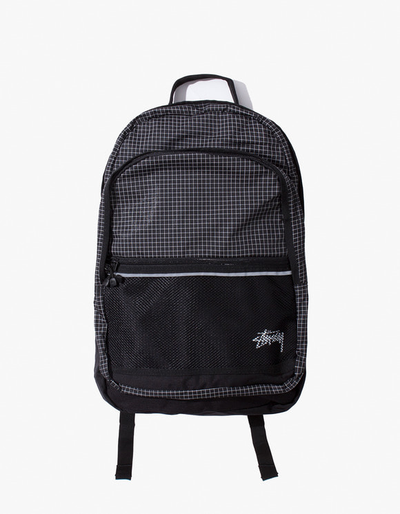 Stussy Ripstop Nylon Backpack - Black | HEIGHTS. | 하이츠 온라인 스토어