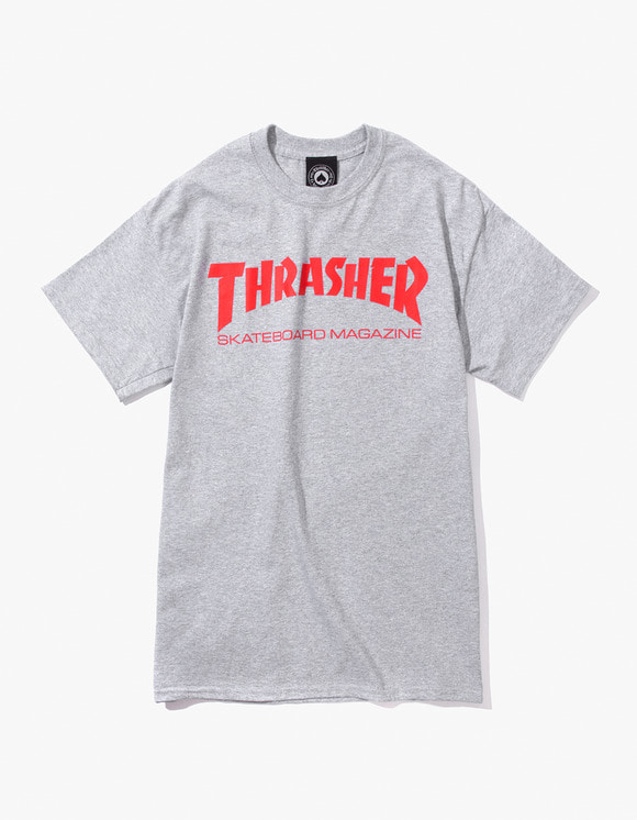 Thrasher Skate Mag S/S Tee - Grey | HEIGHTS. | 하이츠 온라인 스토어
