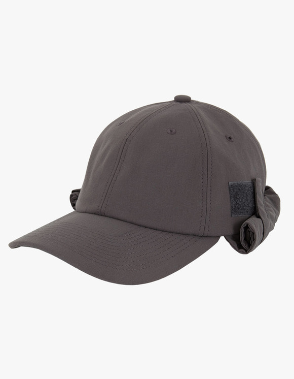 Heritage Floss 6 Panel Fly Fishing Cap - Charcoal | HEIGHTS. | 하이츠 온라인 스토어