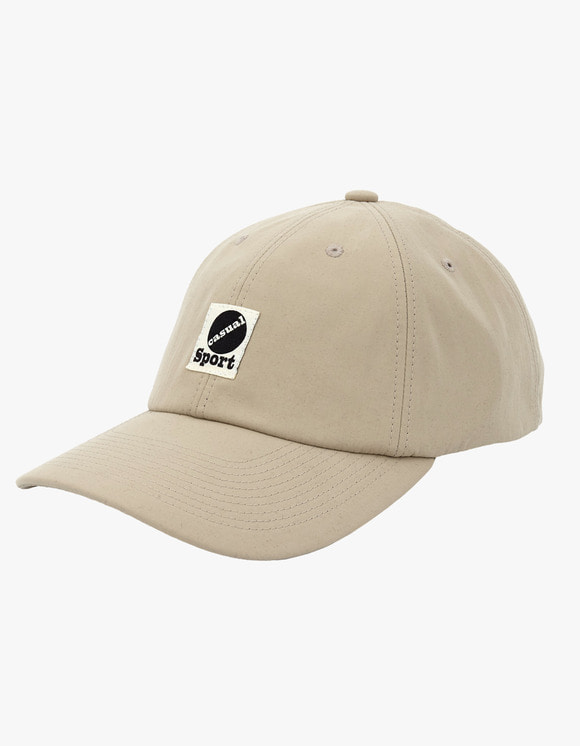 Heritage Floss Nylon Taffeta 6 Panel Cap - Beige | HEIGHTS. | 하이츠 온라인 스토어