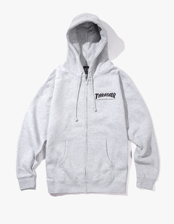 Thrasher THRASHER Logo Zip Hood - Grey | HEIGHTS. | 하이츠 온라인 스토어