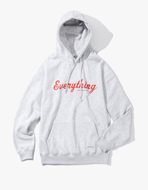 IZOLA NYC Everything Pullover Hoodie - Ash Grey | HEIGHTS. | 하이츠 온라인 스토어