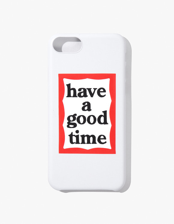 have a good time Frame Iphone Case for Iphone 6/7/8 - White | HEIGHTS. | 하이츠 온라인 스토어