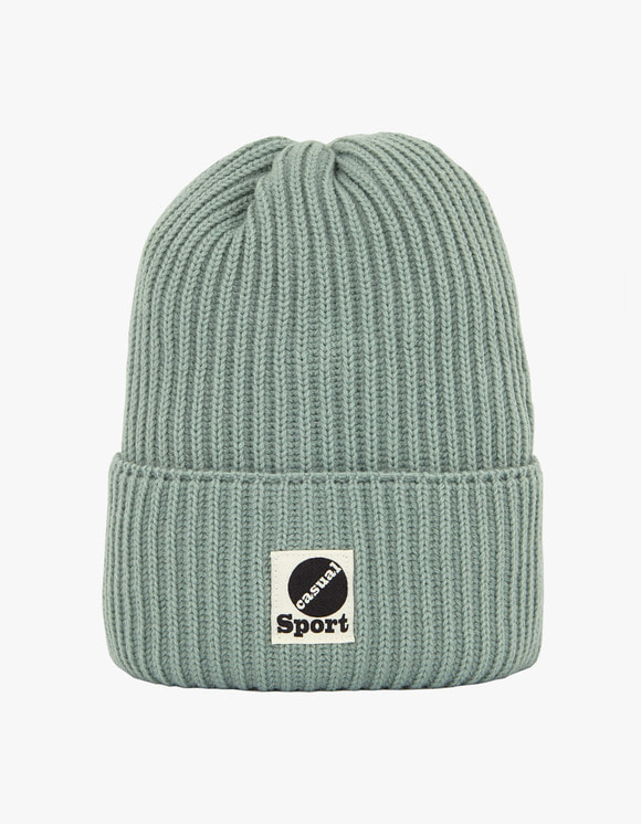 Heritage Floss Wool Beanie - Jade | HEIGHTS. | 하이츠 온라인 스토어