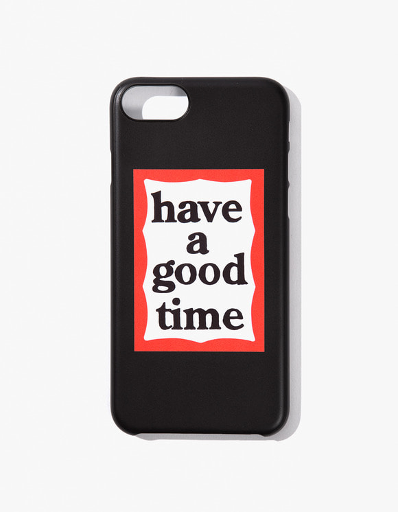 have a good time Frame Iphone Case for Iphone 6/7/8 - Black | HEIGHTS. | 하이츠 온라인 스토어