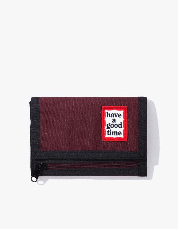 have a good time Cordura® Frame Wallet - Wine | HEIGHTS. | 하이츠 온라인 스토어