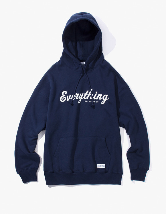 IZOLA NYC Everything Pullover Hoodie - Navy | HEIGHTS. | 하이츠 온라인 스토어