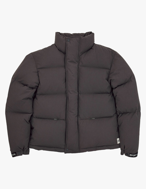 Heritage Floss 700 Puffy Goose Down Jacket - Charcoal | HEIGHTS. | 하이츠 온라인 스토어
