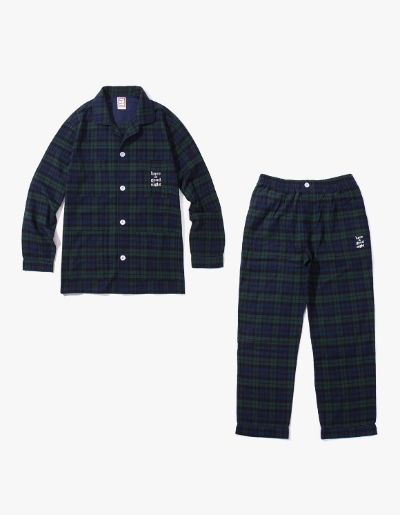 have a good time Have A Good Night Pajama Set - Navy/Dark Green | HEIGHTS. | 하이츠 온라인 스토어