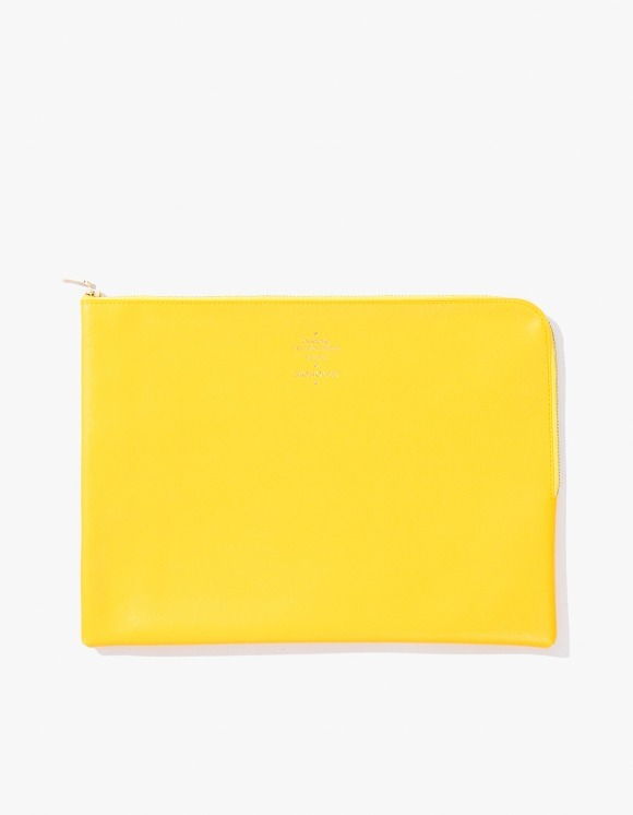 Monocle Delfonics x Monocle Large Zip-Case - Yellow | HEIGHTS. | 하이츠 온라인 스토어