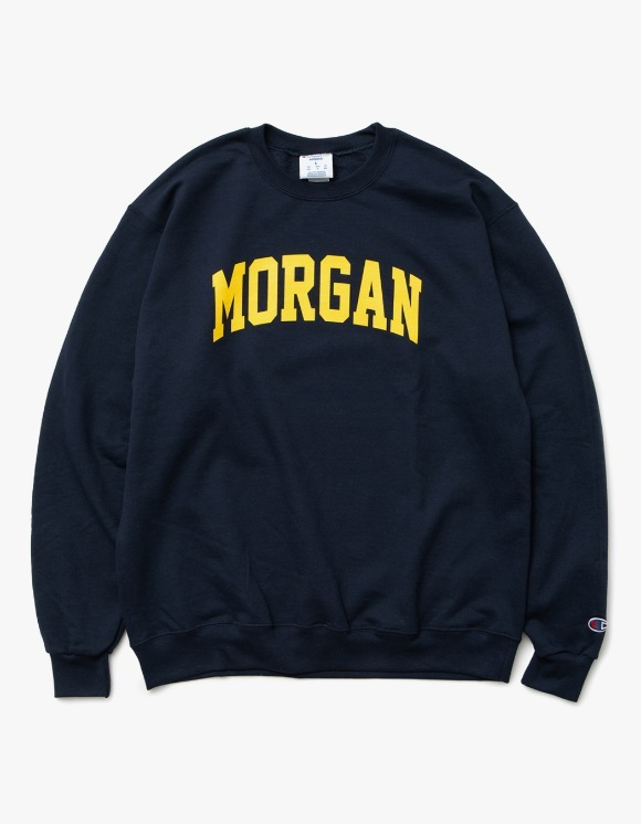 sounds good! Morgan Crewneck - Navy | HEIGHTS. | 하이츠 온라인 스토어