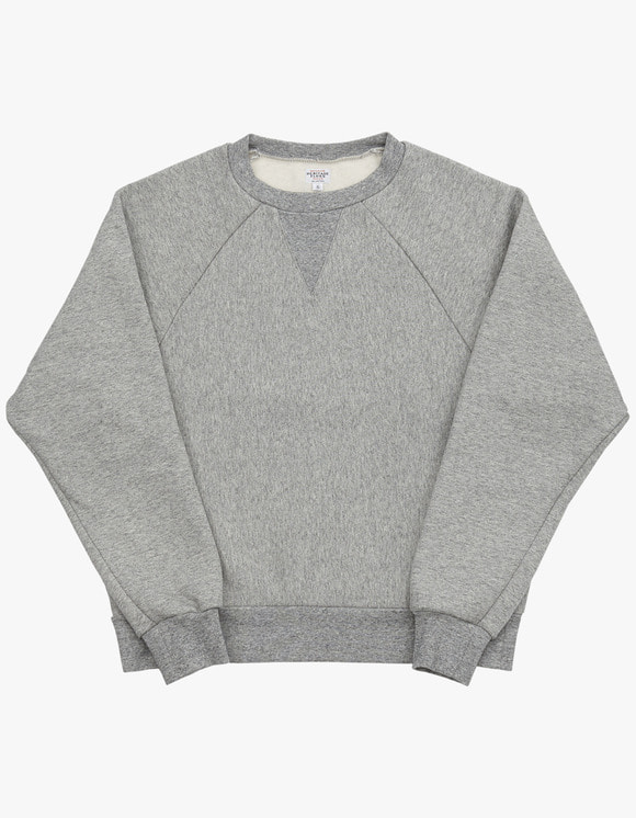 Heritage Floss 221 Reverse Crewneck - M.Grey | HEIGHTS. | 하이츠 온라인 스토어