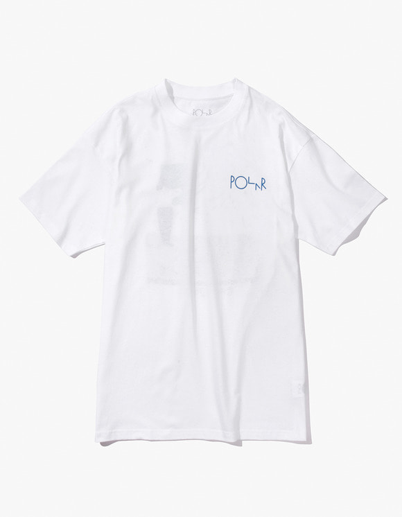 Polar Skate Co. Hanging A Painting Tee - White | HEIGHTS. | 하이츠 온라인 스토어