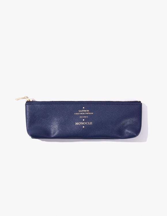 Monocle Delfonics x Monocle Pencil Case - Navy | HEIGHTS. | 하이츠 온라인 스토어