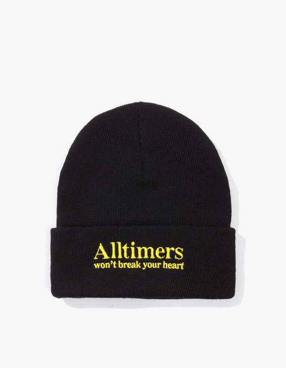 Alltimers Heartbreaker Beanie - Black | HEIGHTS. | 하이츠 온라인 스토어