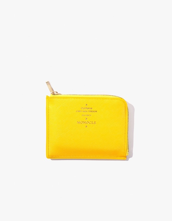 Monocle Delfonics x Monocle Half-Zip Case - Yellow | HEIGHTS. | 하이츠 온라인 스토어