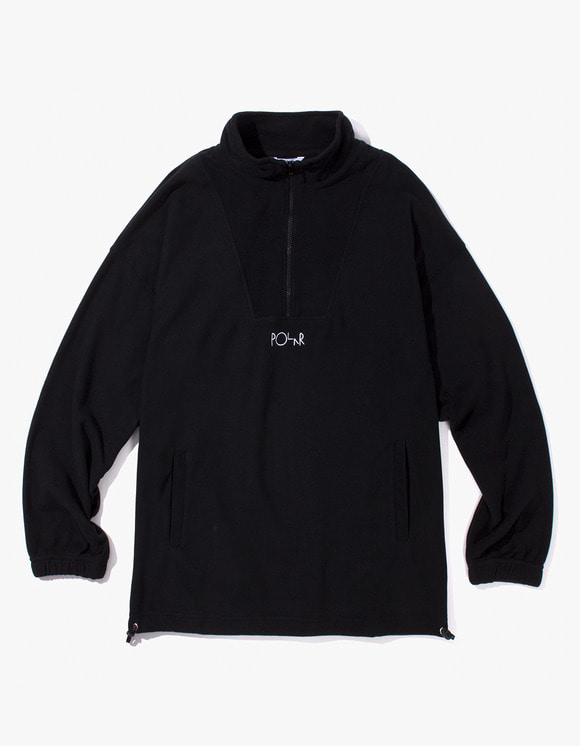 Polar Skate Co. Lightweight Fleece Pullover 2.0 - Black | HEIGHTS. | 하이츠 온라인 스토어
