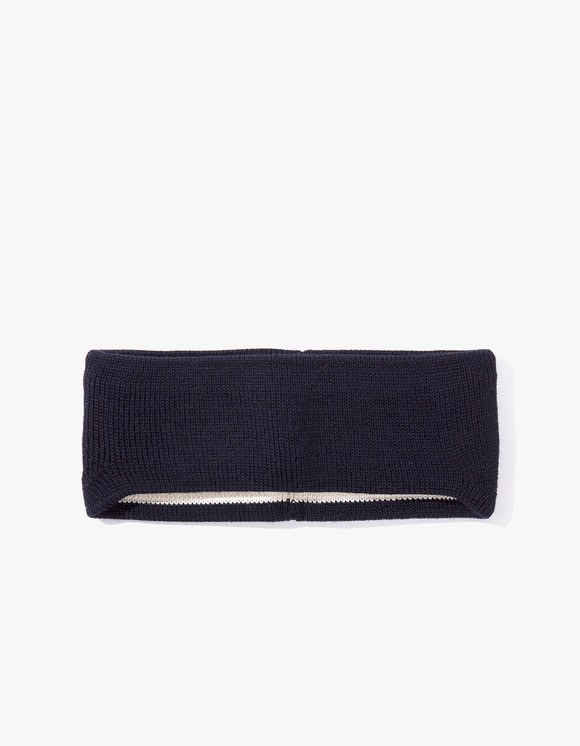 Leuchtfeuer Strickwaren Hair Band- Navy | HEIGHTS. | 하이츠 온라인 스토어