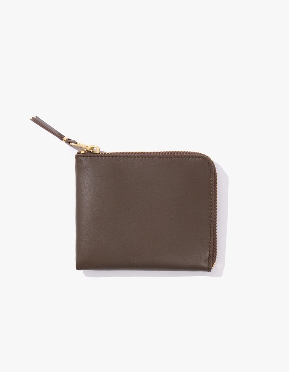 Monocle Comme Des Garçons x Monocle Half-Zip Pouch - Brown | HEIGHTS. | 하이츠 온라인 스토어