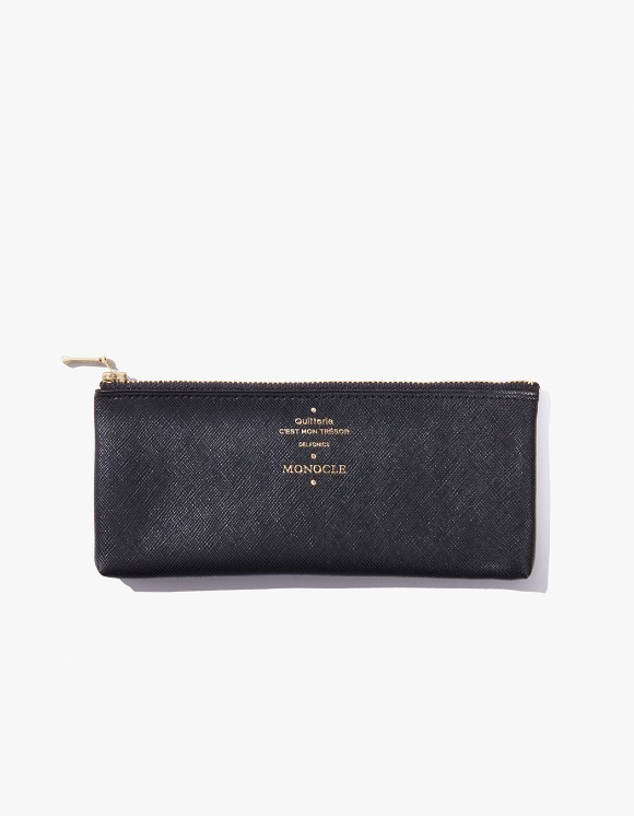 Monocle Delfonics x Monocle Flat Pen Case - Black | HEIGHTS. | 하이츠 온라인 스토어