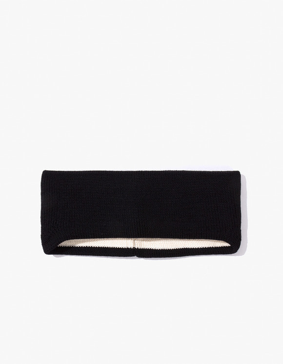 Leuchtfeuer Strickwaren Hair Band- Black | HEIGHTS. | 하이츠 온라인 스토어