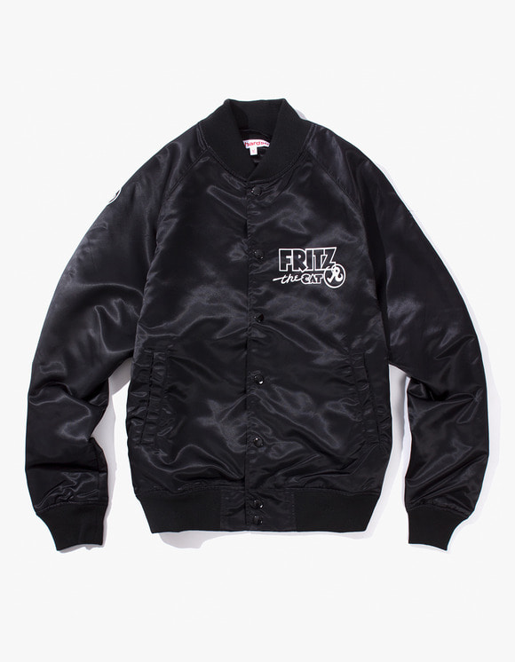 Richardson Fritz  the Cat Bomber - Black | HEIGHTS. | 하이츠 온라인 스토어