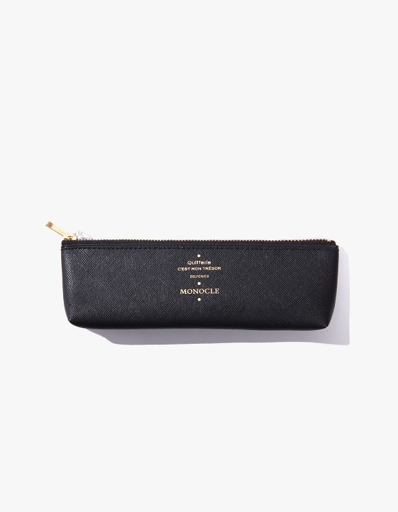 Monocle Delfonics x Monocle Pencil Case - Black | HEIGHTS. | 하이츠 온라인 스토어