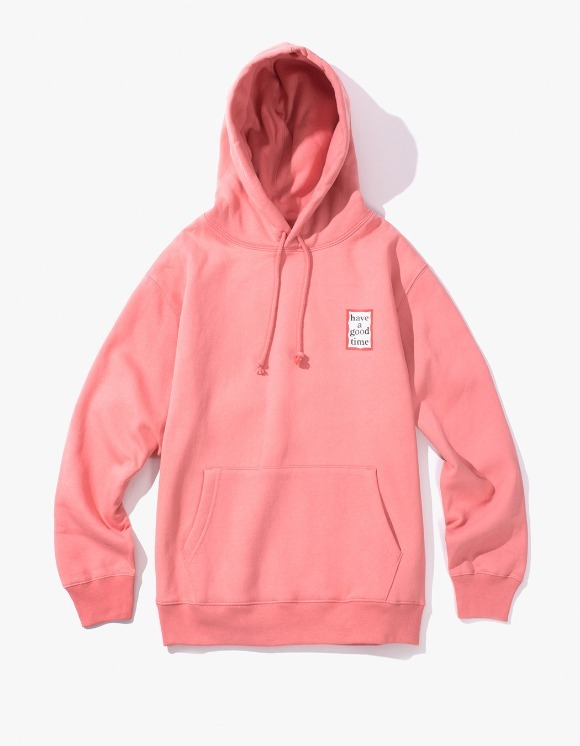 have a good time Mini Frame Pullover Hoodie - Indie Pink | HEIGHTS. | 하이츠 온라인 스토어