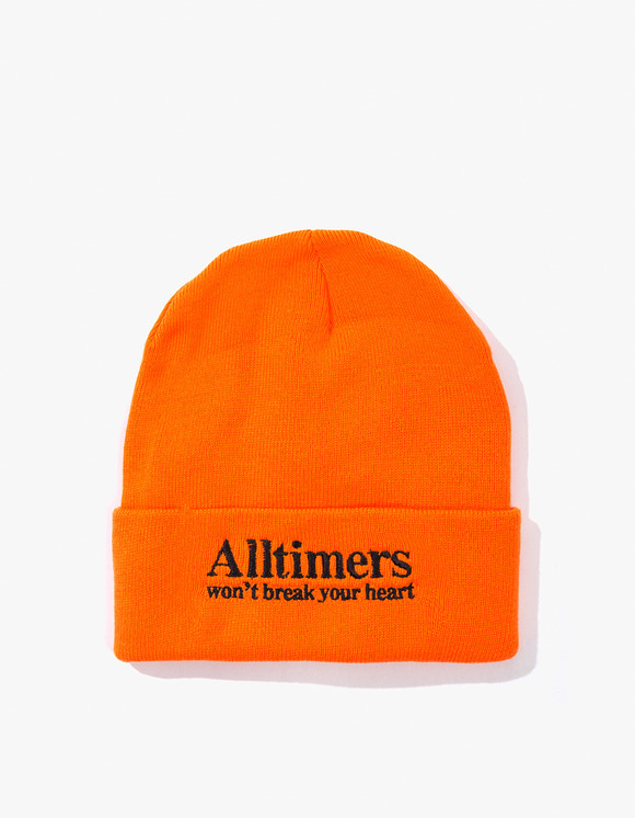 Alltimers Heartbreaker Beanie - Orange | HEIGHTS. | 하이츠 온라인 스토어