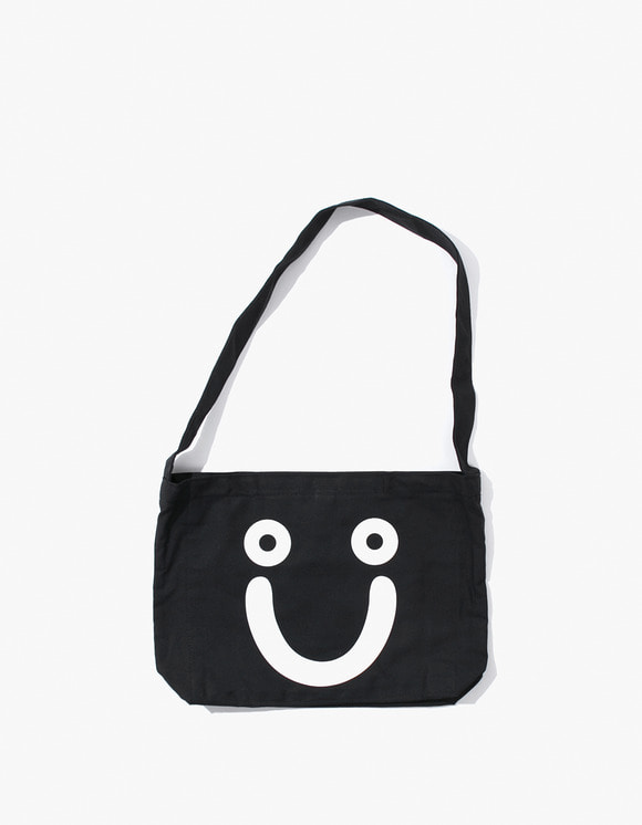 Polar Skate Co. Happy Sad Tote Bag - Black | HEIGHTS. | 하이츠 온라인 스토어
