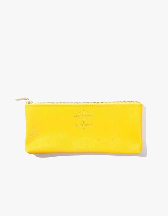 Monocle Delfonics x Monocle Flat Pen Case - Yellow | HEIGHTS. | 하이츠 온라인 스토어