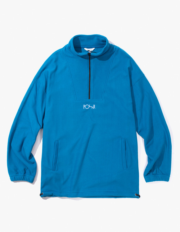 Polar Skate Co. Lightweight Fleece Pullover 2.0 - Myknos Blue | HEIGHTS. | 하이츠 온라인 스토어